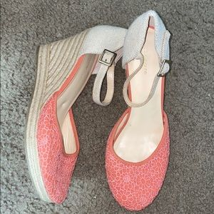 Shoes - Pink Wedges